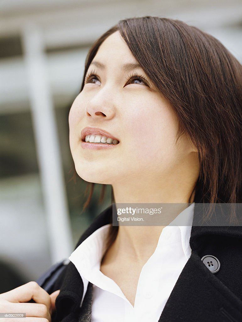 Secondary School Student Thinking : Stock Photo
