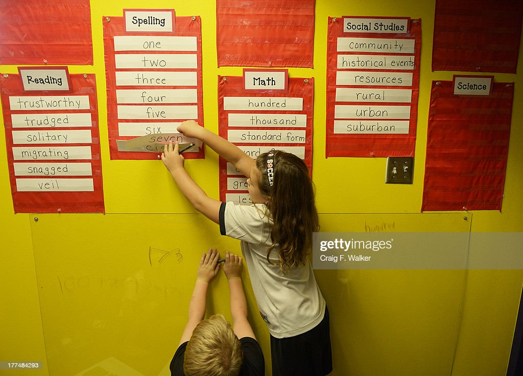 Emergenetics at Summit View Elementary School Pictures | Getty Images