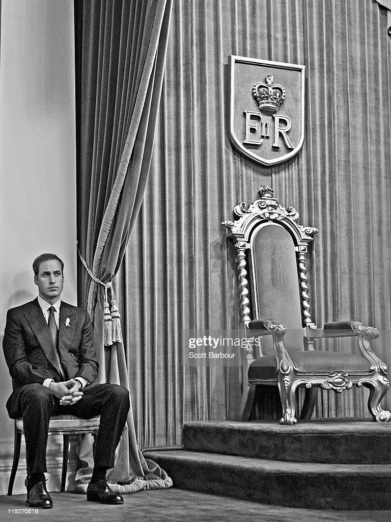 Prince William Visits Australia - Day 3 : News Photo
