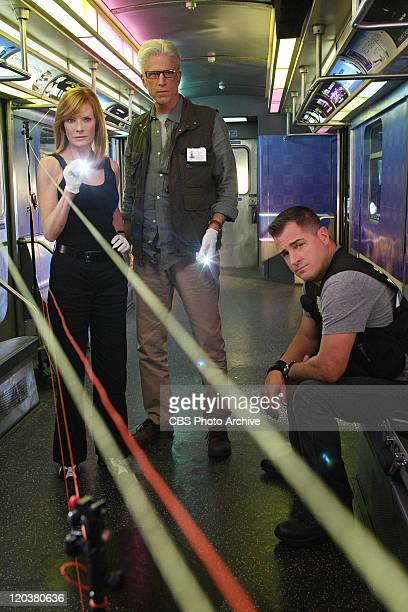 "Seconds"" -- Catherine Willows , D.B. Russell and Nick Stokes star in CSI: CRIME SCENE INVESTIGATION which begins its 12th season on Wednesday,..."