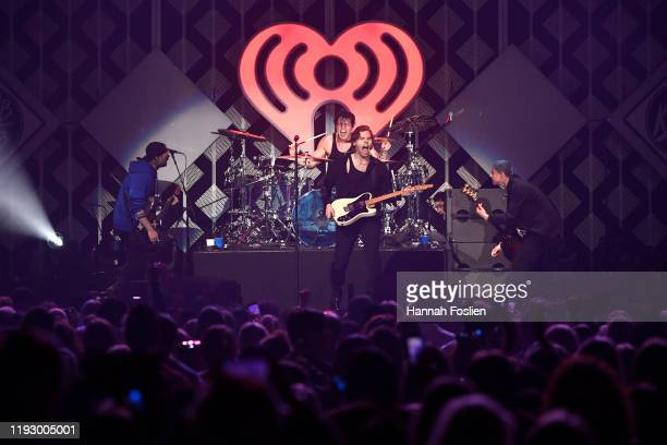 Seconds of Summer performs onstage during 101.3 KDWB's Jingle Ball 2019 Presented by Capital One at Xcel Energy Center on December 9, 2019 in St....