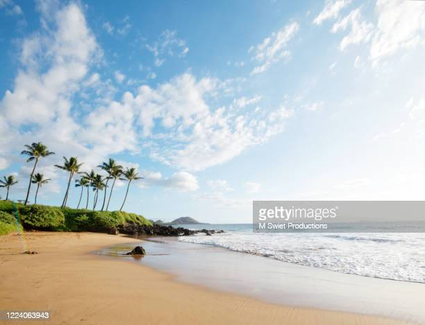 secret beach hawaii - category:census-designated_places_in_honolulu_county,_hawaii stock pictures, royalty-free photos & images