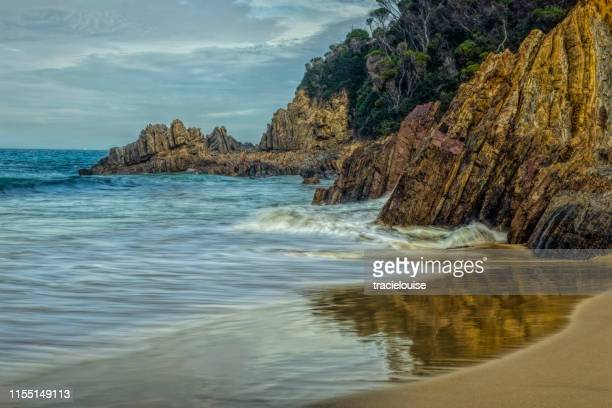 secret beach mallacoota - mallacoota stock pictures, royalty-free photos & images