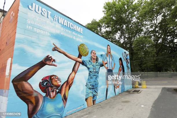 """Secret Deodorant launches """"Just #WatchMe"""" campaign with murals across New York, Atlanta and Philadelphia to help young girls stay in the game with..."""