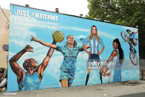 """Secret Deodorant teams up with powerful women athletes including Chiney Ogwumike, Ashleigh Johnson, Oksana Masters and more to launch """"Just #WatchMe""""..."""
