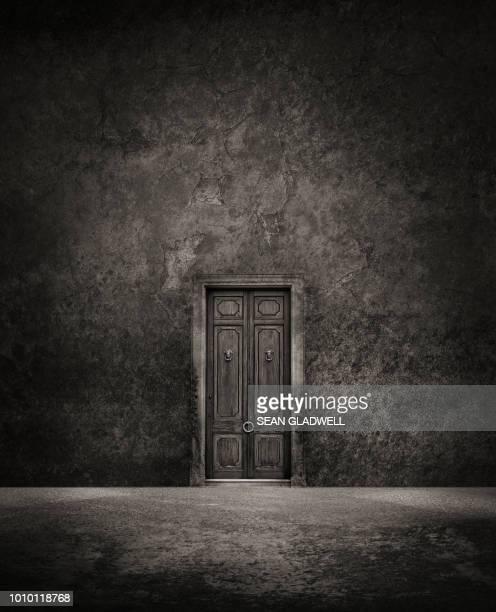 secret door - horreur photos et images de collection