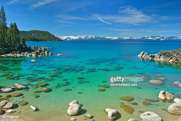 secret harbor cove - lake tahoe stock pictures, royalty-free photos & images