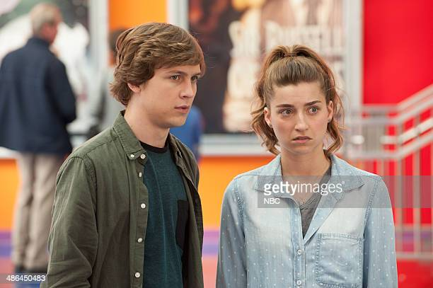 FISHER 'Secret Lives of Fishers' Episode 112 Pictured Logan Miller as Anthony Ava DelucaVerley as Katie Fisher