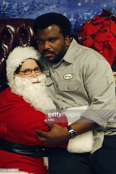 THE OFFICE 'Secret Santa' Episode 610 Air Date Pictured Phyllis Smith as Phyllis Lapin Craig Robinson as Darryl Philbin Photo by Chris Haston/NBCU...