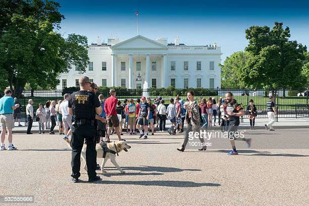 US secret service at the White House