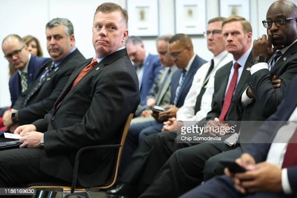 Secret Service Director James Murray is joined by Ryan Petty and Tony Montalto, who both had daughters killed during the 2018 mass shooting at...