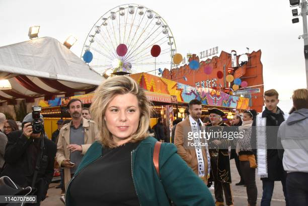 Secret Story 3 TV comedian Cindy Lopes attends Foire du Trone 2019 Auction Party to benefit Adicare and Amster associations at Pelouse de Reuilly on...