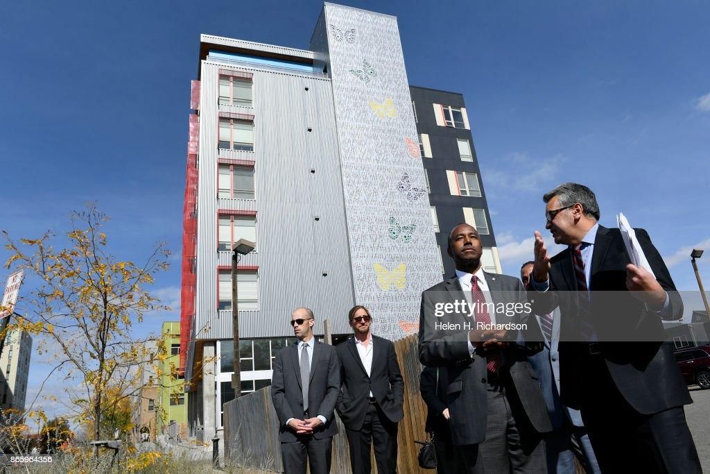 HUD Secretary Ben Carson Tours The Mariposa Development, The Denver Housing  Authorityu0027s Crown Jewel For