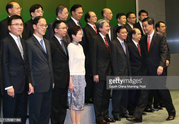 Secretary for Financial Services and the Treasury Professor Chan Kakeung Secretary for Home Affairs Tsang Taksing Secretary for Justice Rimsky Yuen...