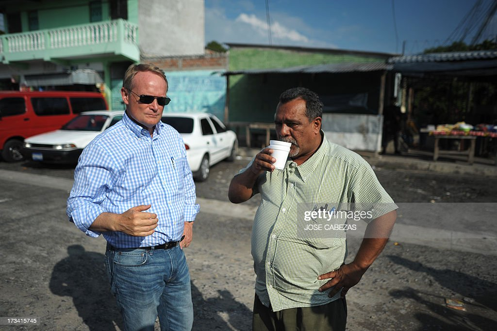 EL SALVADOR-OAS-TRUCE-GANGS : News Photo