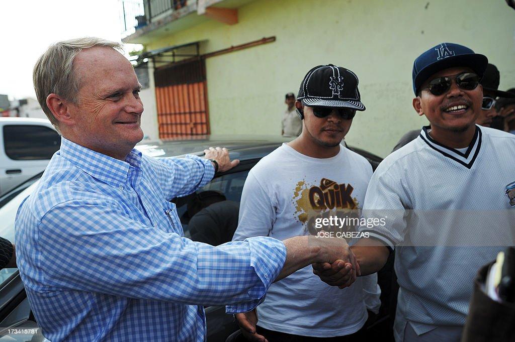 EL SALVADOR-OAS-TRUCE-GANGS : News Photo