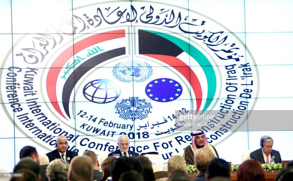 KUWAIT-IRAQ-DIPLOMACY-CONFERENCE : News Photo