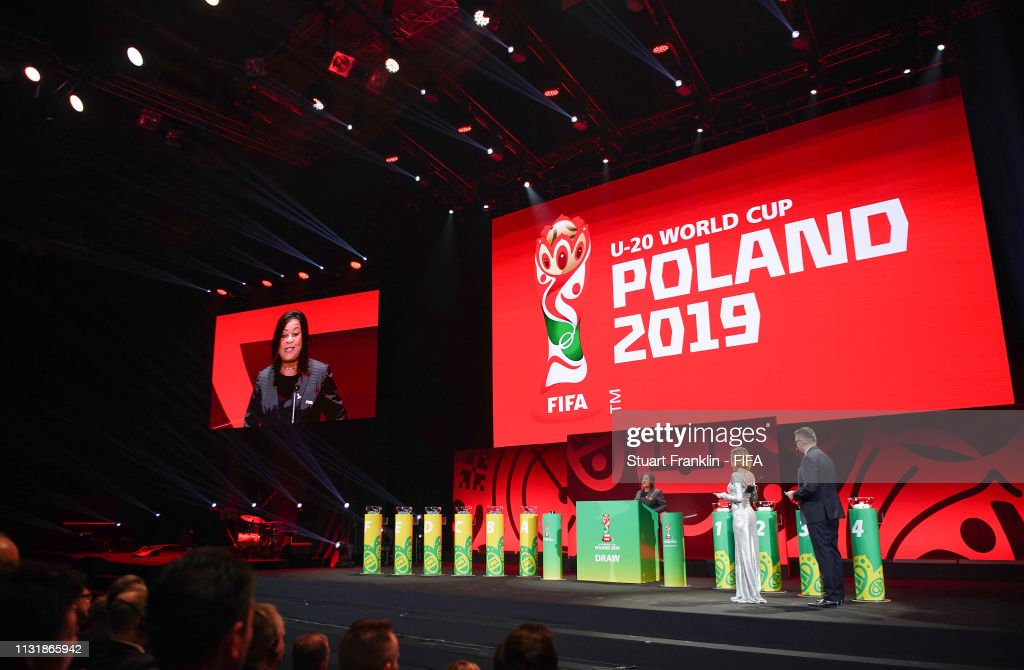 Draw for the FIFA U-20 World Cup Poland 2019 : ニュース写真