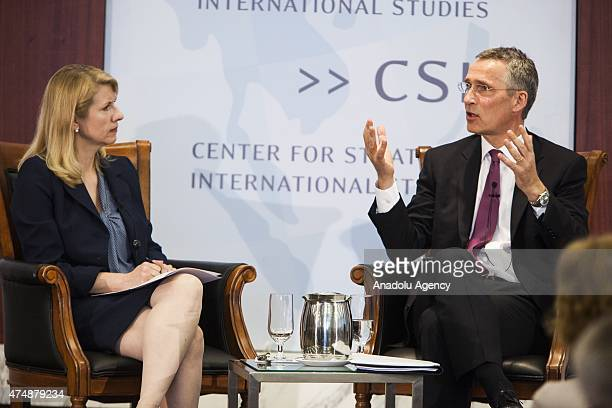 Secretary General Jens Stoltenberg speaks and answers questions on challenges facing the Transatlantic Alliance and the ways in which NATO must adapt...