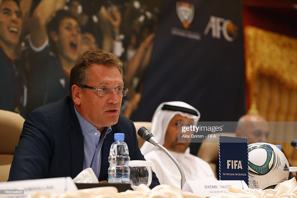 FIFA Secretary General Valcke opens FIFA Football Regional Coaching Workshop : News Photo