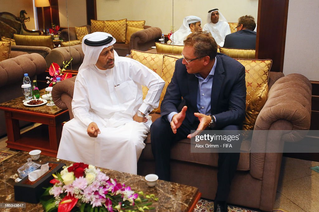 FIFA Secretary General Valcke opens FIFA Football Regional Coaching Workshop : News Photo