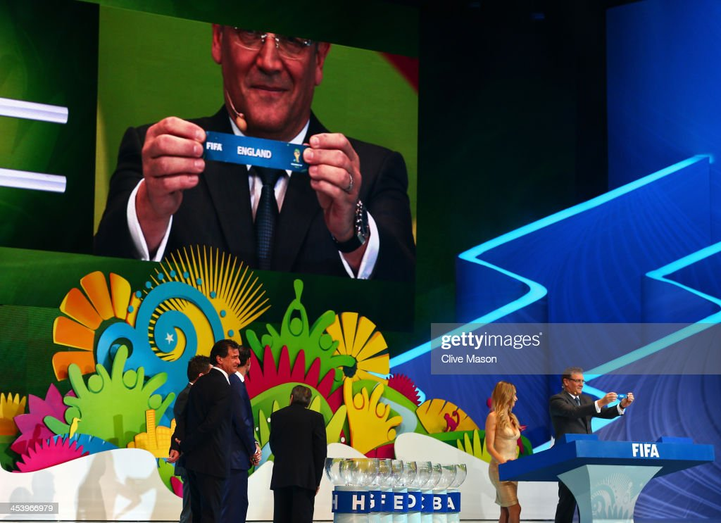 2014 FIFA World Cup Final Draw : News Photo