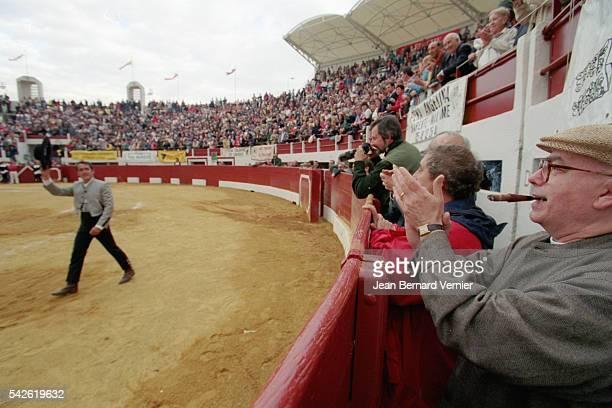 Secretary General Marc Blondel at Bullfight