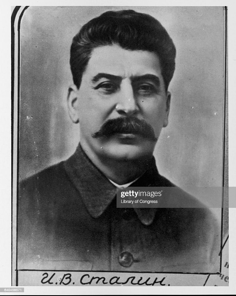 Secretary General of Soviet Central Committee Joseph Stalin