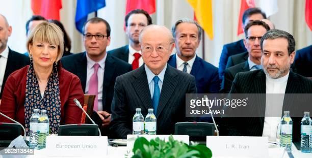 Secretary General of the European Union External Action Service Helga Schmid Director General of the International Atomic Energy Agency IAEA Yukiya...