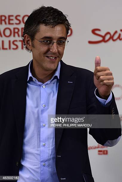 BAZINET Secretary General of the Socialist Parliamentary Group Eduardo Madina one of the candidates to become the new Secretary General of the...