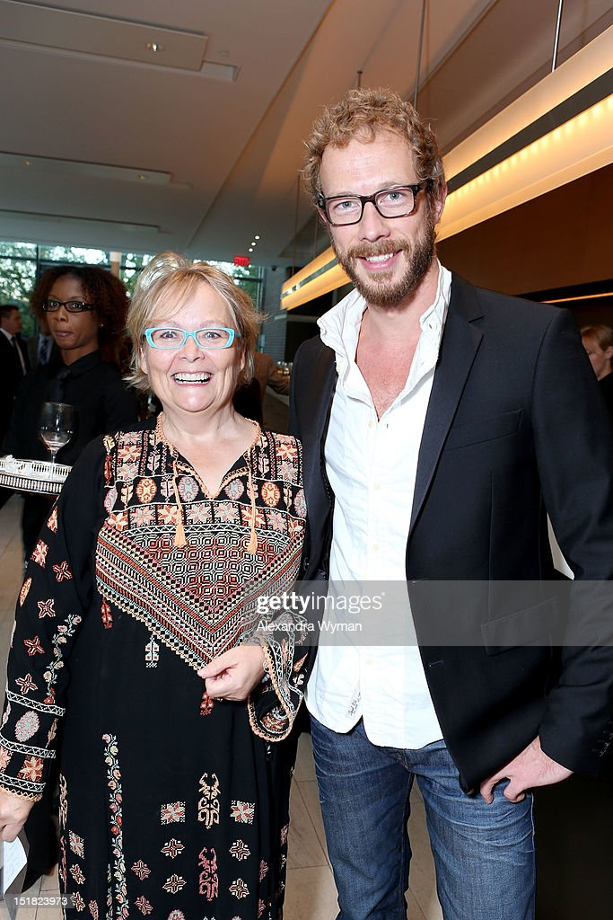 FINCA, Secretary Jacquie Green (L) and Actor Kris Holden-Ried attend the FINCA Canada Fundraiser At TIFF 2012 during the Toronto International Film Festival on September 11, 2012 in Toronto, Canada.