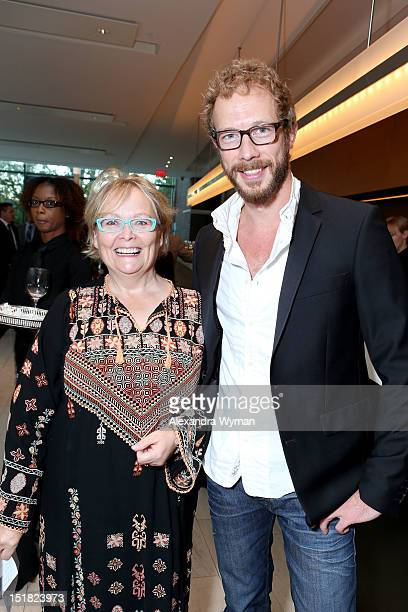 FINCA Secretary Jacquie Green and Actor Kris HoldenRied attend the FINCA Canada Fundraiser At TIFF 2012 during the Toronto International Film...