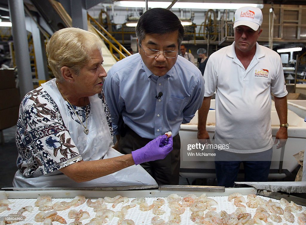 Commerce Secretary Locke Visits Gulf To Inspect State Of Seafood Industry