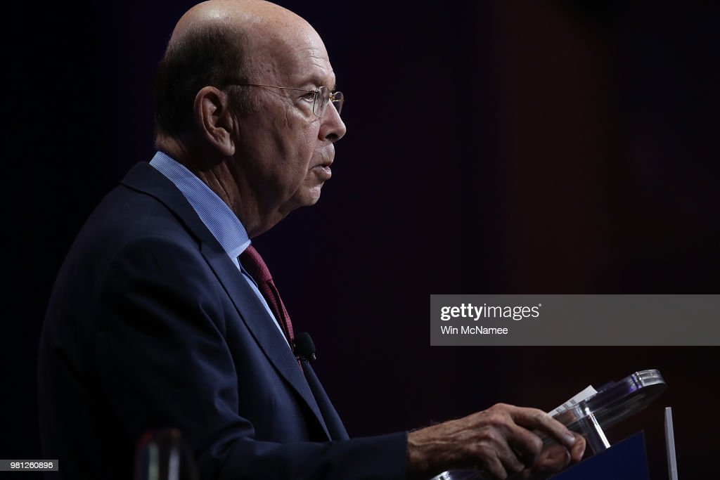 Wilbur Ross Delivers Remarks At Commerce Department Investment Summit