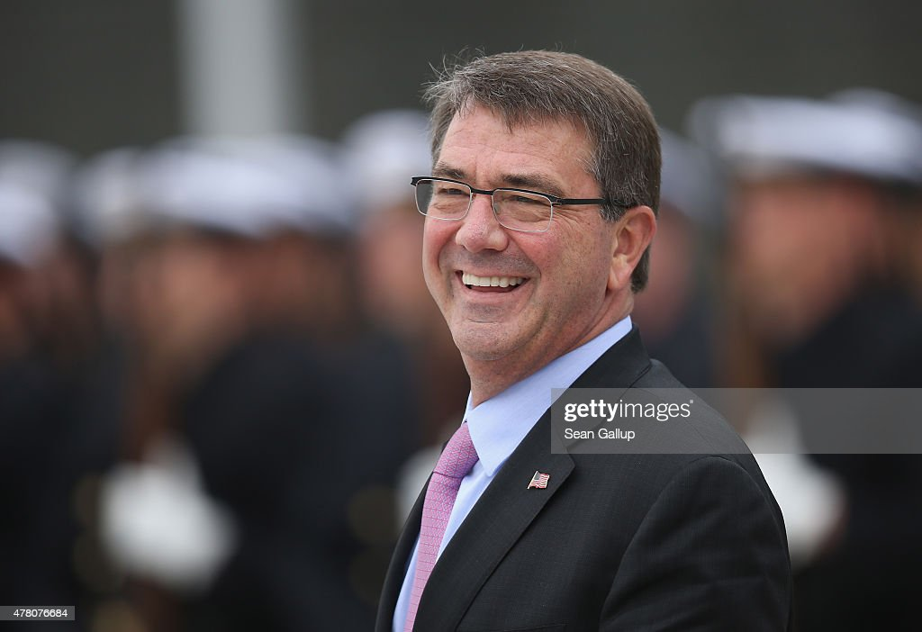 U.S. Defense Secretary Ashton Carter Visits Germany