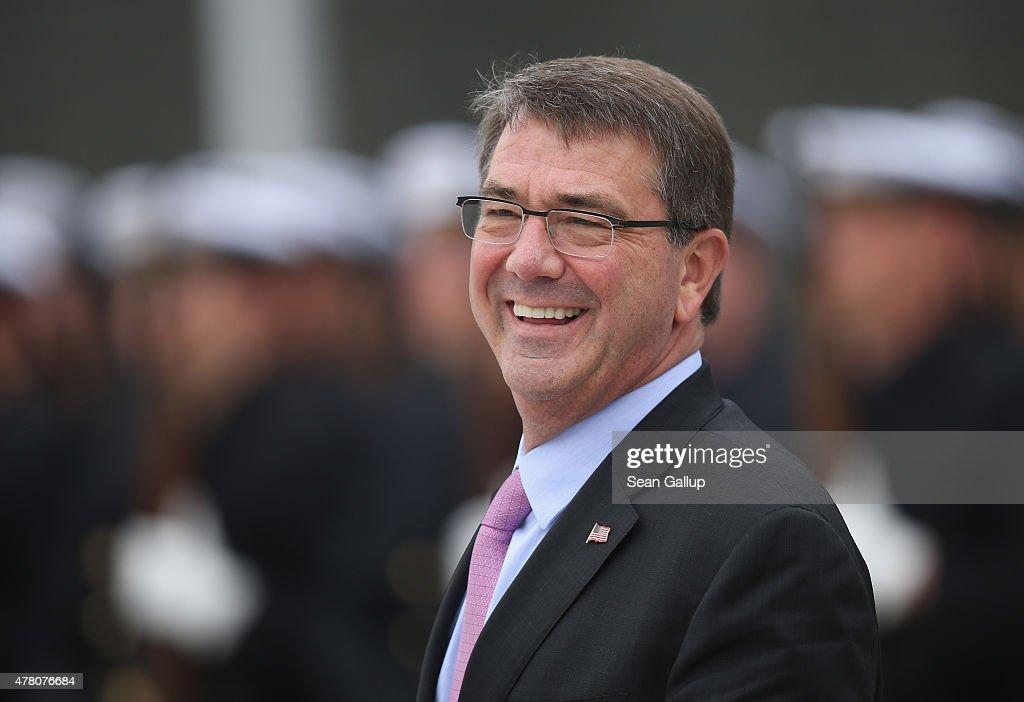 U.S. Defense Secretary Ashton Carter Visits Germany