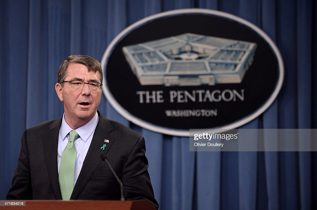 Defense Secretary Ashton Carter Gives Briefing On Sexual Assault Annual Report