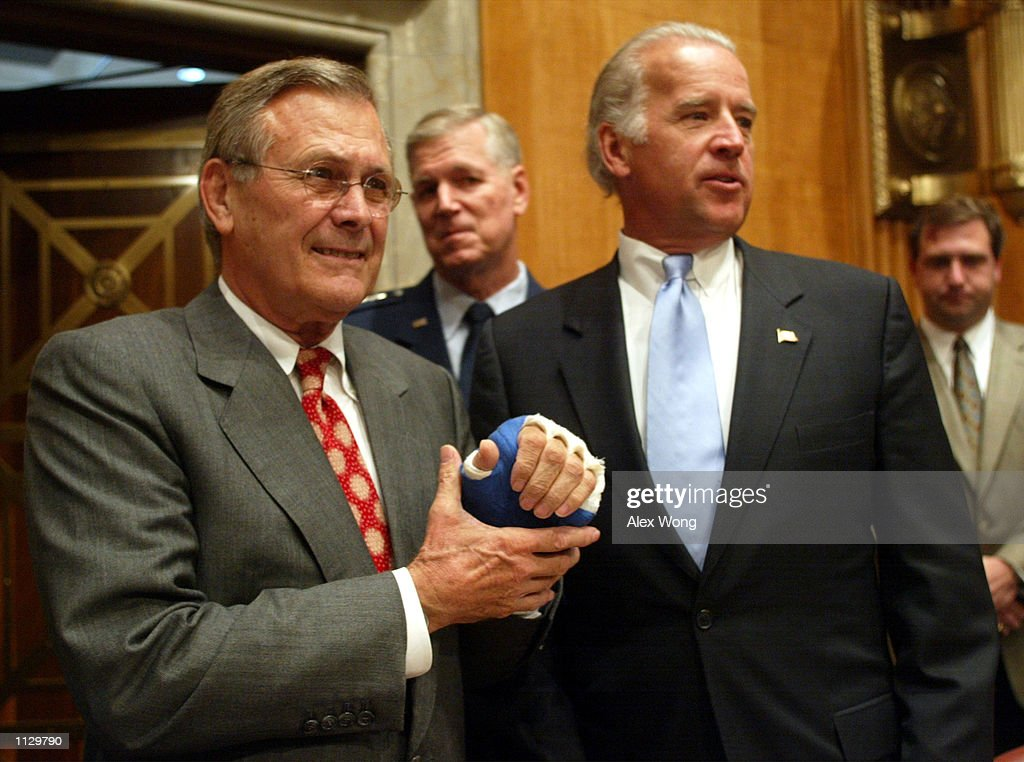 secretary-of-defense-donald-rumsfeld-chairman-of-joint-chiefs-of-picture-id1129790