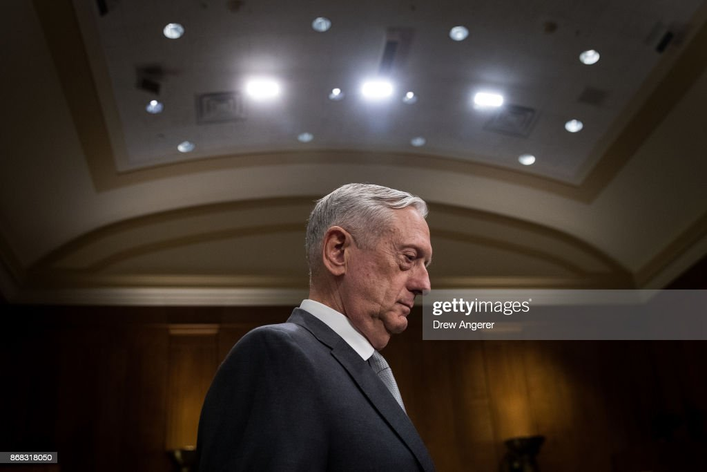 Tillerson And Mattis Testify At Senate Hearing On Authorization Of Use Of Force