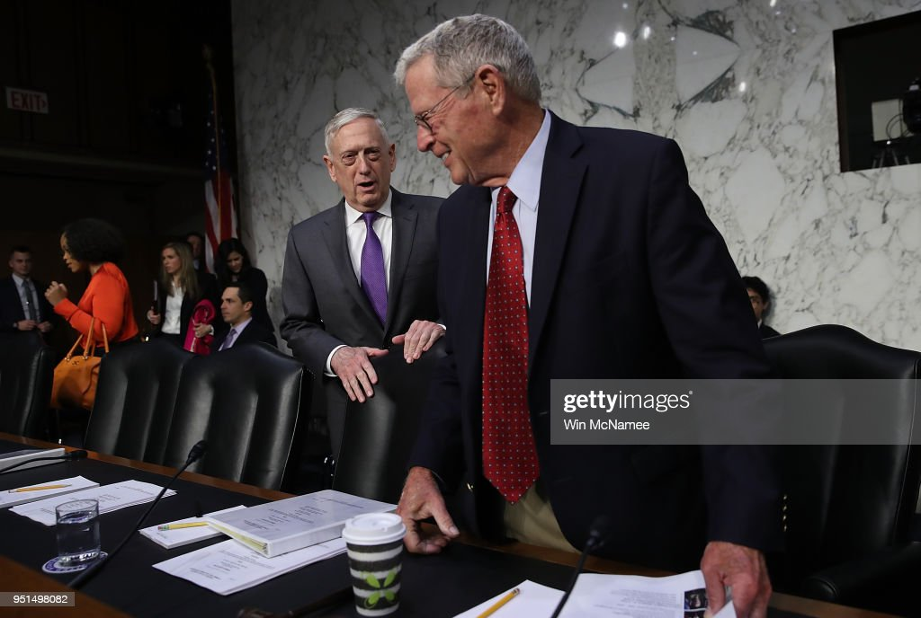 Defense Secretary Mattis Testifies Before Senate Armed Services Cmte On Budget