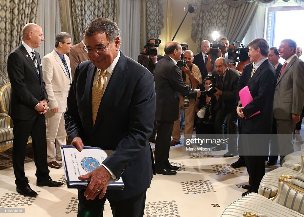 U.S. Secretary Of Defense Leon Panetta Travels To Northern Africa And Middle East