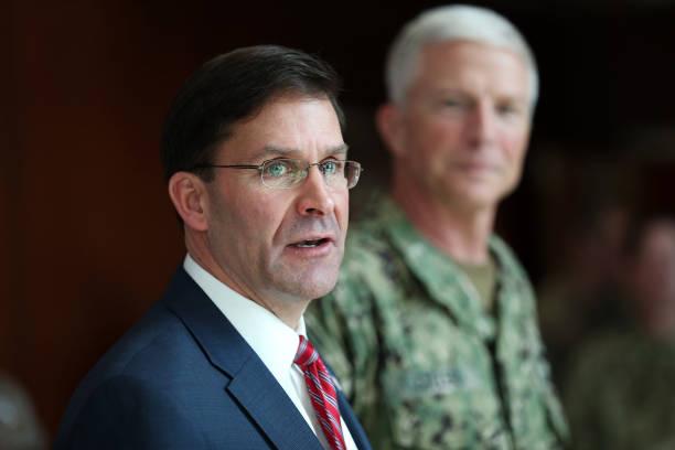 FL: Defense Secretary Mark Esper Visits U.S. Southern Command