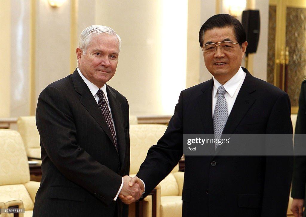 U.S. Secretary of Defense Robert Gates On Four-day Visit To China