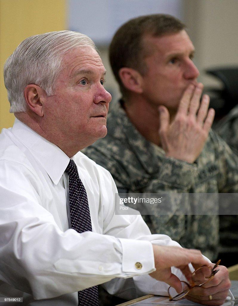 Secretary of Defense Gates Middle East Diplomacy Trip