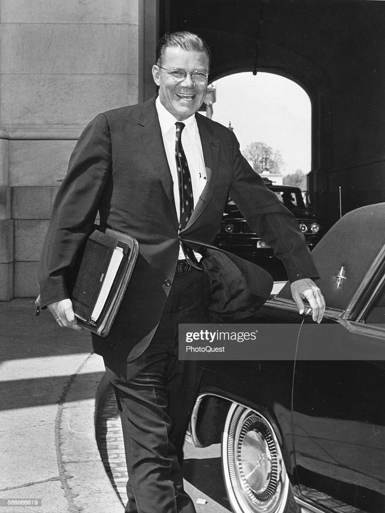 US Secretary of Defense, Robert S McNamara, Washington DC