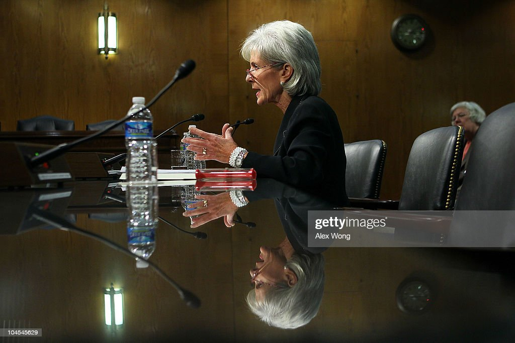 Sebelius Testifies At Senate Hearing On Public Health Threats