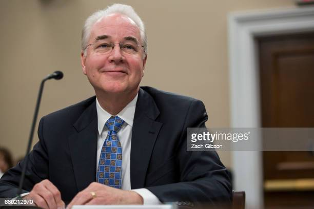 Secretary of Health and Human Services Tom Price testifies during a Labor, Health and Human Services, Education, and Related Agencies Subcommittee...