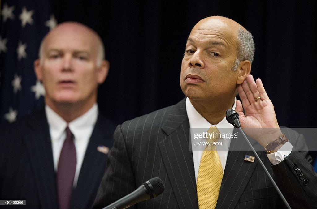 Secretary Of Homeland Security 2015
