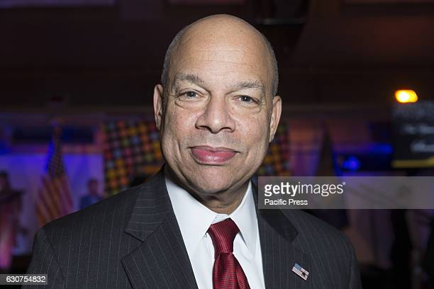 Secretary of Homeland Security Jeh Johnson attends 2nd avenue subway celebration at 72nd street station in Manhattan