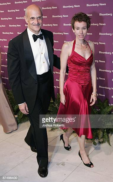 Secretary of Homeland Security Michael Chertoff and his wife Meryl arrive at the Bloomberg News Party after the White House Correspondents' Dinner...